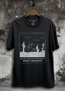 Dare to Dream Tee- Black