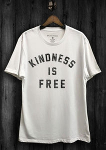Kindness is Free Tee- White