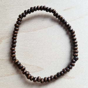 Bracelet Bar-Wood Beaded