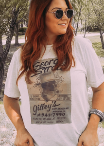 George Straight Gilley Poster Tee
