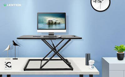 "LENTION Height Adjustable 31"" Standing Desk"
