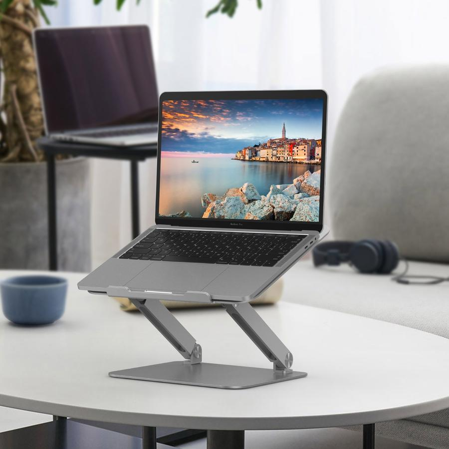 LENTION L5 Adjustable Height Laptop Stand Desk Riser with Multiple Angle