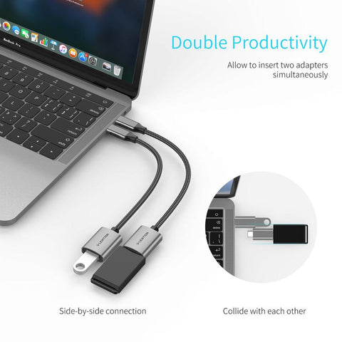 LENTION USB C to USB 3.0 Adapter
