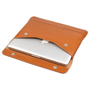 Leather Sleeve Case For 12-16 inch slim laptop | Lention Designs. Lention Designs