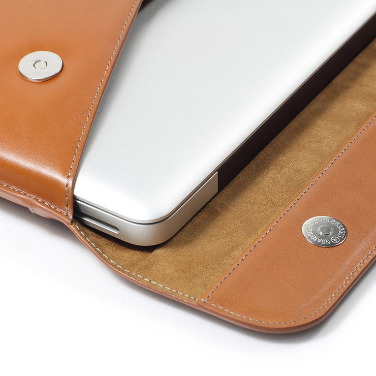 Leather Sleeve Case Compatible 12-16 inch slim laptop- Lention.com