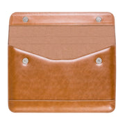LENTION Leather Sleeve Case - 12-16 inch slim laptop