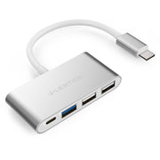 Lention.com — CB-C13 — 4-in-1 USB-C Hub with Type C, USB 3.0, USB 2.0 Adapter