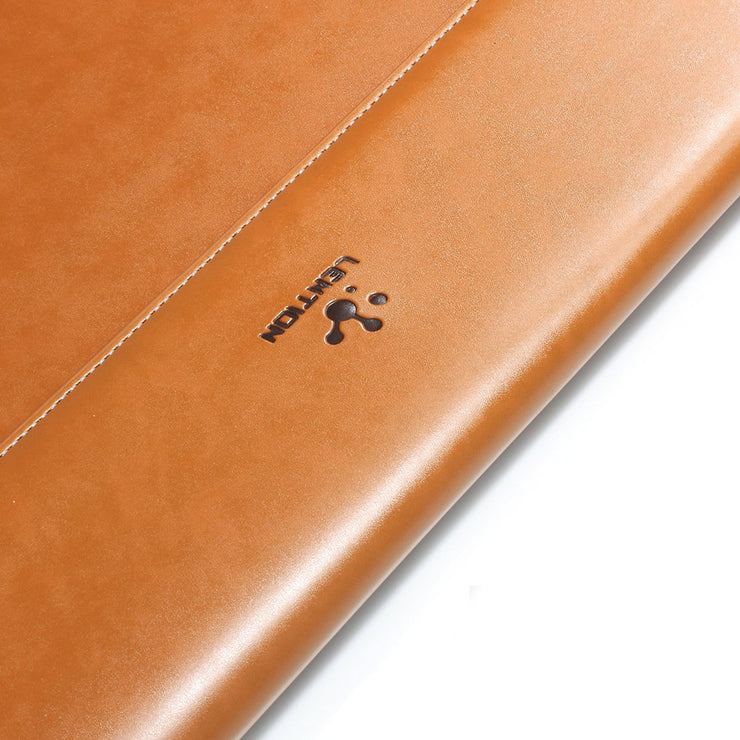 Lention.com:Leather Sleeve Case For MacBook and Ultra Slim Laptop: Computers & Accessories