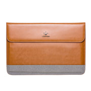 Leather Sleeve Case - MacBook and Ultra Slim Laptop – 12-16 inch slim laptop|Lention.com