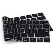 Lention.com:Ultra Thin Silicone Keyboard Protector Skin for  MacBook Pro 13 15 16 and MacBook Air 13 2010-2017, Black: Electronics