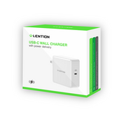 Lention.com: USB Wall Charger, 29W USB C Wall Charger with Fast Charge PD Adapter Compatible with laptops and mobile phones: Electronics