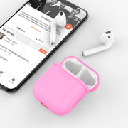 Apple AirPods Case |Anti-scratch|Silicone rubber | Lention.com