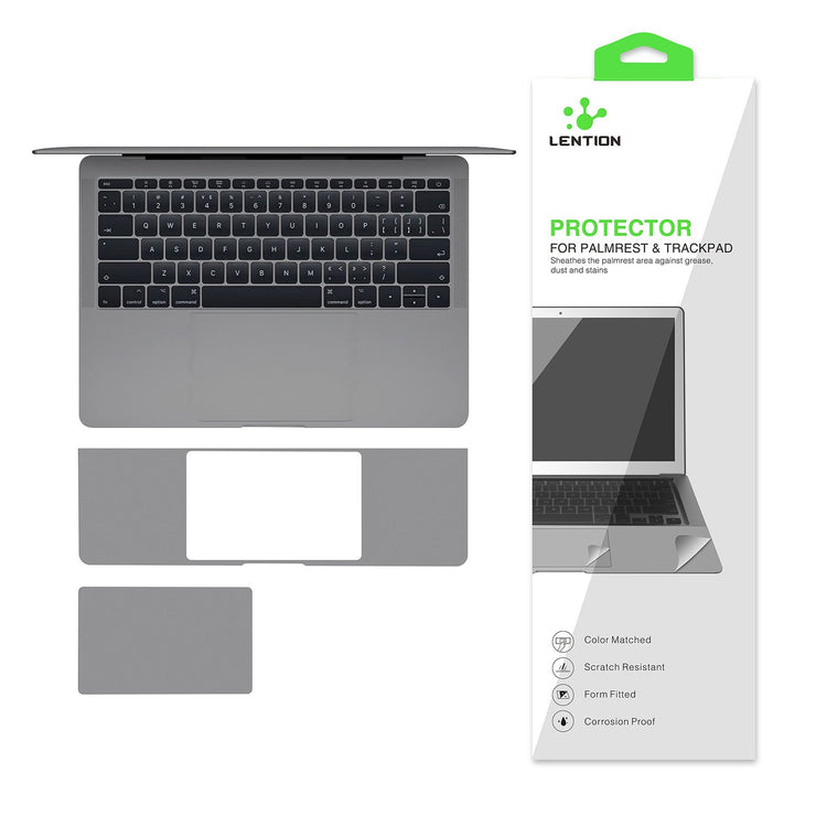 LENTION Palm Rest Skin for MacBook Pro (13-inch, 2016-2019, with Thunderbolt 3 Ports) (PRO13T-PG)