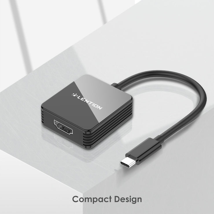 LENTION USB-C to HDMI Adapter, 4K/30Hz Digital AV Converter (CB-CU207H) (US Warehouse in Stock)