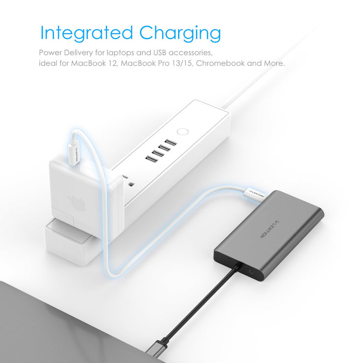 LENTION USB C Digital AV Multiport Hub  - $49.99 -  Lention.com