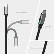 LENTION 6ft Long USB C to HDMI 2.0 Cable Adapter (4K/60Hz) (CU707) (US Warehouse in Stock)