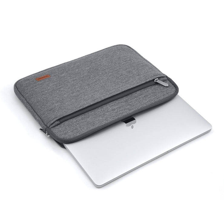 LENTION Gray & Blue Briefcase for MacBook Air/Pro - Lention Store