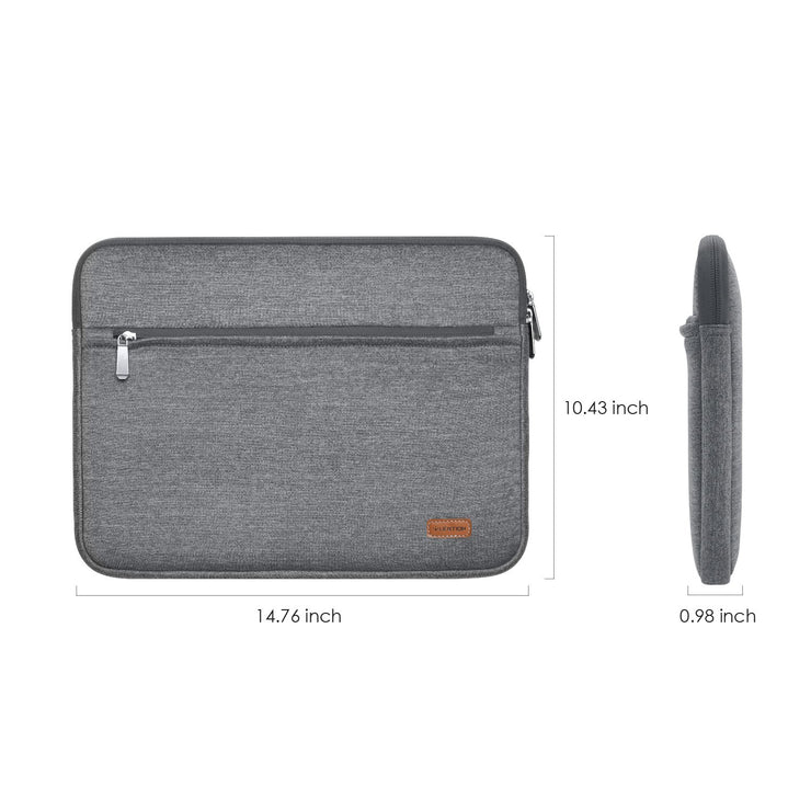 Gray & Blue Briefcase - MacBook Air/Pro | Lention – Lention Store