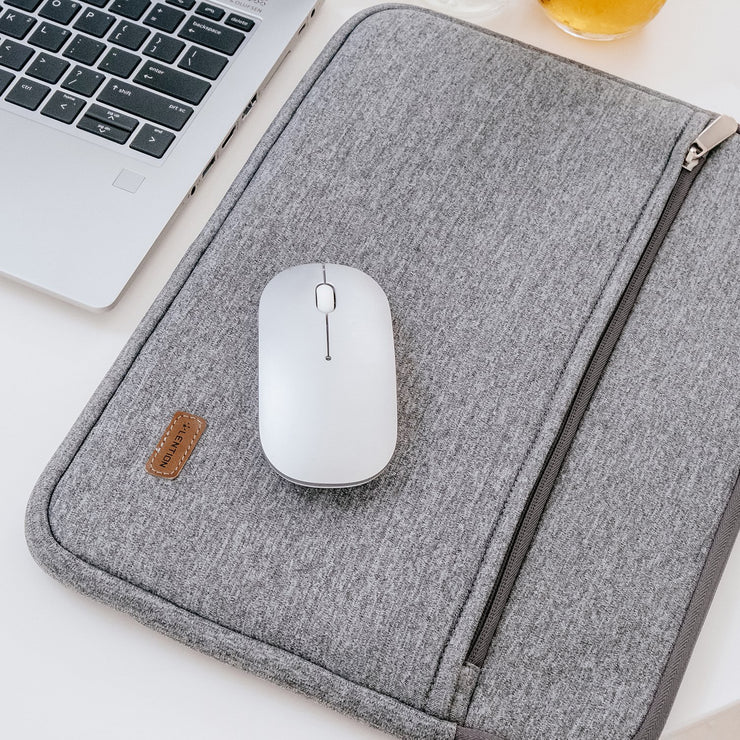 LENTION Gray & Blue Briefcase for MacBook Air/Pro |  World's Best