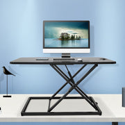 "Lention.com : Standing Desk Converter - 31"" Height Adjustable  Stand Up Desk Riser - Sit to Stand Desktop Workstation : Office Products"
