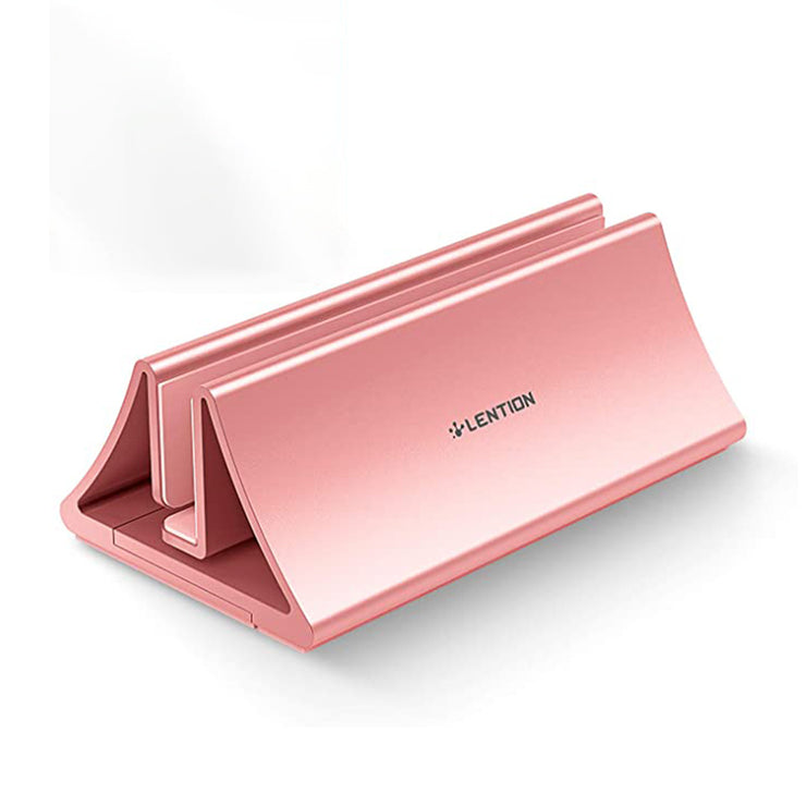 Lention.com: [Stand-LS1] Vertical Desktop Stand, Fits MacBook Pro 13/15 (Late 2008 - Mid 2015) (Rose Gold): Electronics