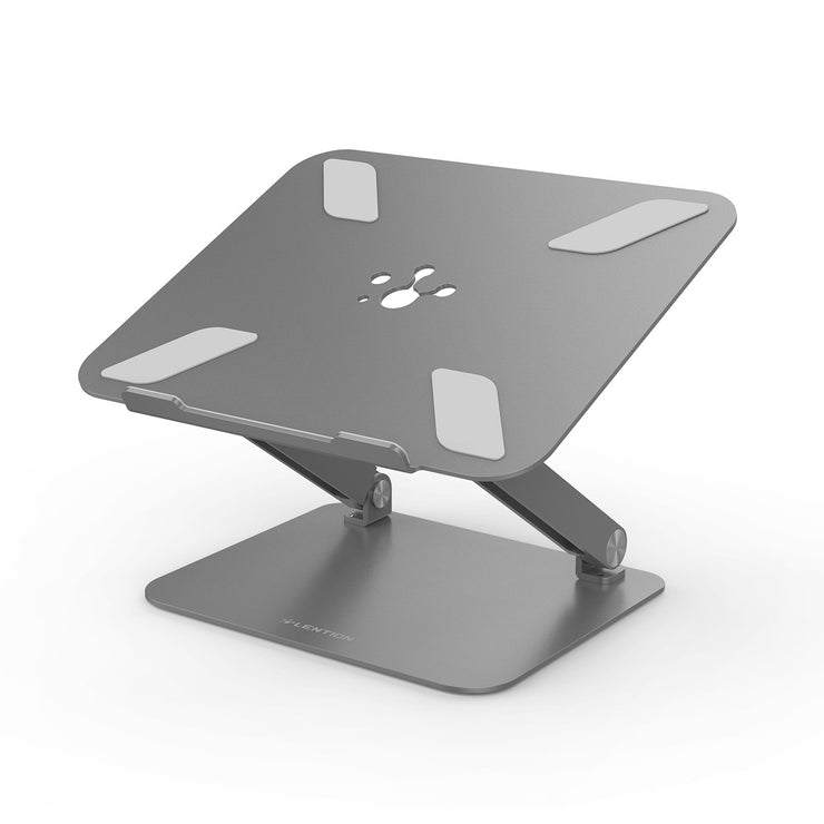 Lention.com: L5 Adjustable Height Laptop Stand Desk Riser with Multiple Angle (Stand-L5): Office Products