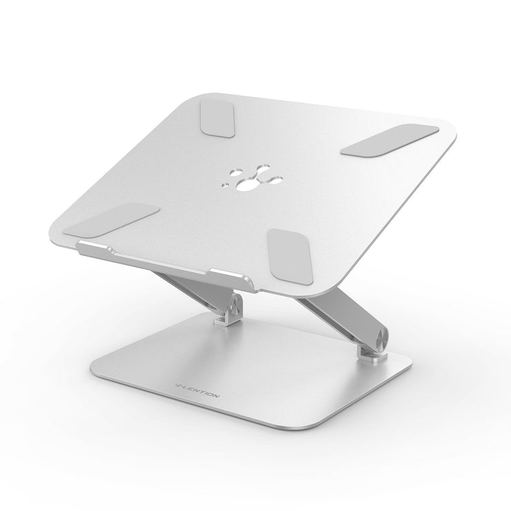 Lention.com: L5 Adjustable Height with Multiple Angle Laptop Notebook Stand with Adjustable Riser: Office Products