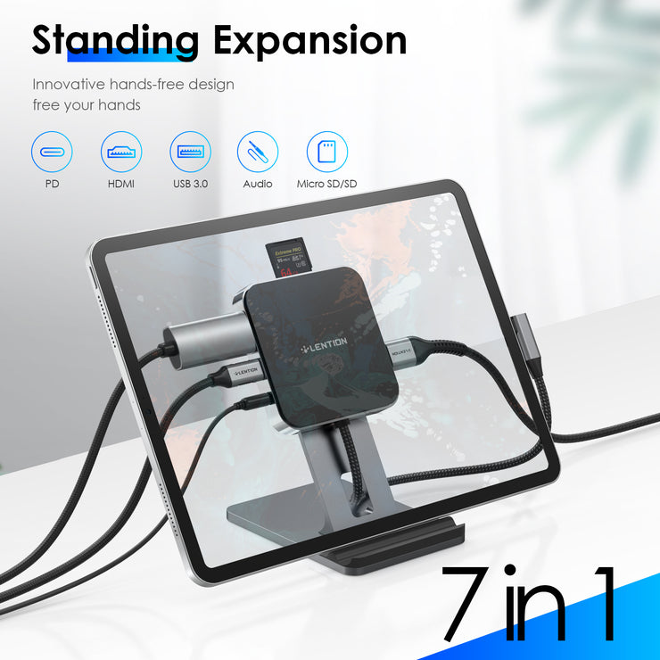 Best Laptop USB C Standing Dock of 2021 | Lention