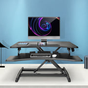 LENTION Gas Spring Height Adjustable 30'' Standing Desk (VM-GSD33)(US Warehouse in Stock)
