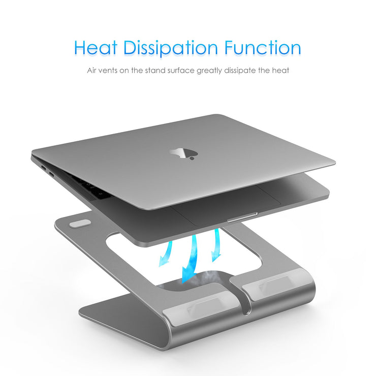 LENTION 360° Rotating L2 Laptop Notebook Stand, Laptop Raiser (Stand-L2) (US/UK Warehouse In Stock)