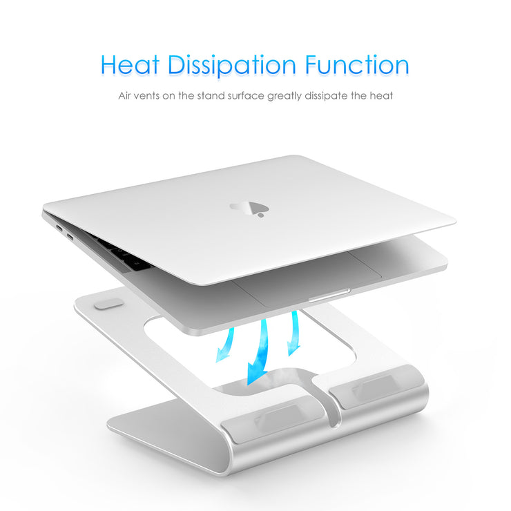 Lention.com: Laptop Stand, PC Stand, 360° Rotating Laptop Notebook Stand for MacBook Air 11/13, MacBook Pro 13/15, Microsoft Surface, Dell, HP, ASUS: Office  Products