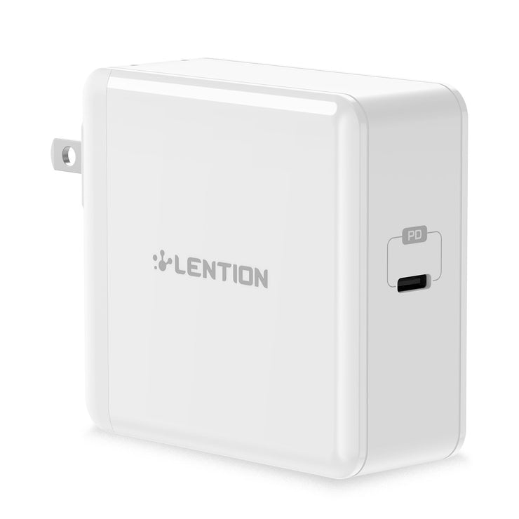 LENTION 60W USB C Wall Charger with Fast Charge PD Adapter | SW600U