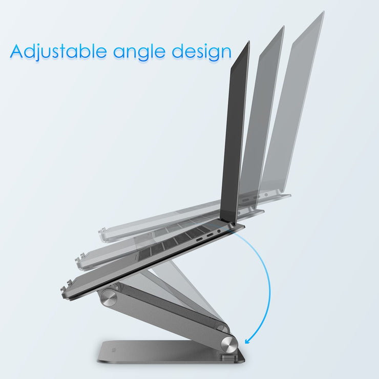 Lention.com: L5 Adjustable Height Laptop Stand Desk Riser with Multiple Angle for 13'' MacBook Pro, Microsoft Surface, Dell XPS, HP, ASUS: Office  Products