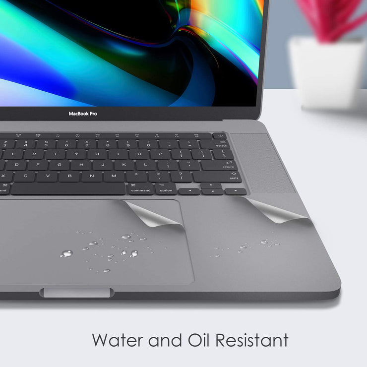"Space gray Palm Rest Skin for 16"" MacBook Pro with Thunderbolt 3 Ports - Lention.com"