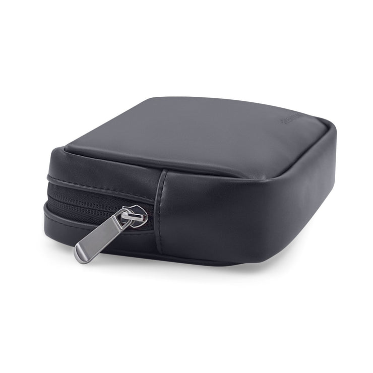 Split Leather Carrying Storage Pouch for Laptop Universal Electronic Accessories | Lention.com