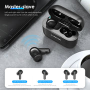 Lention.com:Wireless Charging Case Bluetooth 5.0 Headphones, Immersive Premium Sound with Unique SiP Encapsulation