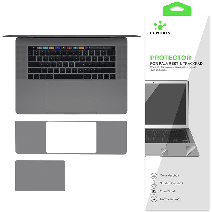 MacBook Pro 2016-2019 Palm Rest Skin with Thunderbolt 3 Ports 15  Inch - Lention