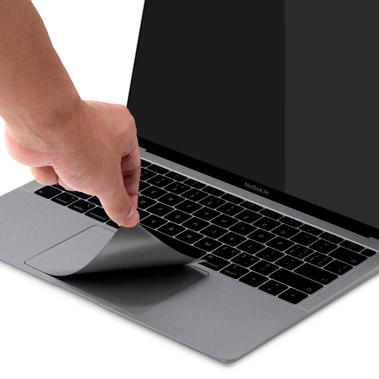 Lention.com: Palm Rest Skin Compatible with New MacBook Air (13-inch, 2018-2020, with Thunderbolt 3/ USB4 Ports)(Space gray/Silver): Computers & Accessorie