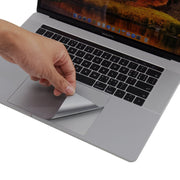 "Space gray Palm Rest Skin for 15"" MacBook Pro with Thunderbolt 3 Ports - Lention.com"