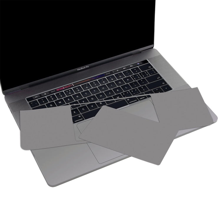 Lention.com: Palm Rest Skin Compatible  with MacBook Pro (15-inch, 2016-2019, with Thunderbolt 3 Ports)(Space gray/Silver): Computers & Accessories