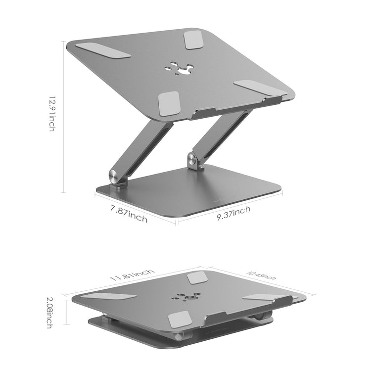 Laptop Stand :: Lention Laptop Stand, L5 Adjustable Height Laptop Stand Desk Riser with Multiple Angle, 13'' MacBook Air, 13'' and 15'' MacBook Pro - Lention Official  Website | Best Selling
