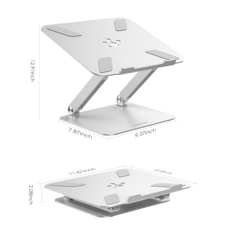 $49.99 - LENTION L5 Adjustable Height Laptop Stand Desk Riser with Multiple Angle
