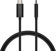 Lention USB Type C to Type C Cable - 3.3ft -  White & Black: Lention.com: Electronics