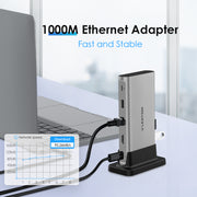 4K HDMI Laptop Docking Station - Mac and Windows CB-D53 -  Lention.com| Lention US/UK/CA