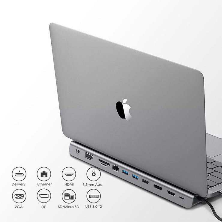 Compatible 2016-2020 MacBook Pro,MacBook Air2018-2020/Surface Docking Station:Lention.com:Computers & Accessories