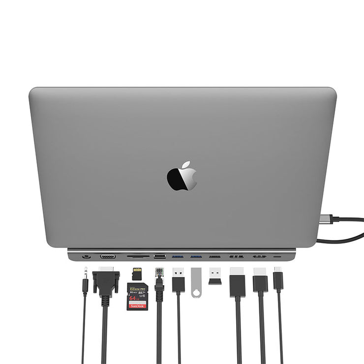 Lention Docking Station – USB 3.0/2.0 (CB-C95) | LentionUS/DE/FR/JP