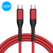 LENTION 10ft USB C to USB C Fast Charging Cable Covered with Braided Cord (CB-CCT) (US/UK/CA/AU/EU Warehouse in Stock)