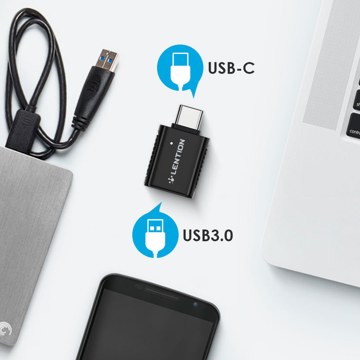 LENTION USB-C to USB 3.0 Adapter - US Warehouse in Stock | Lention.com