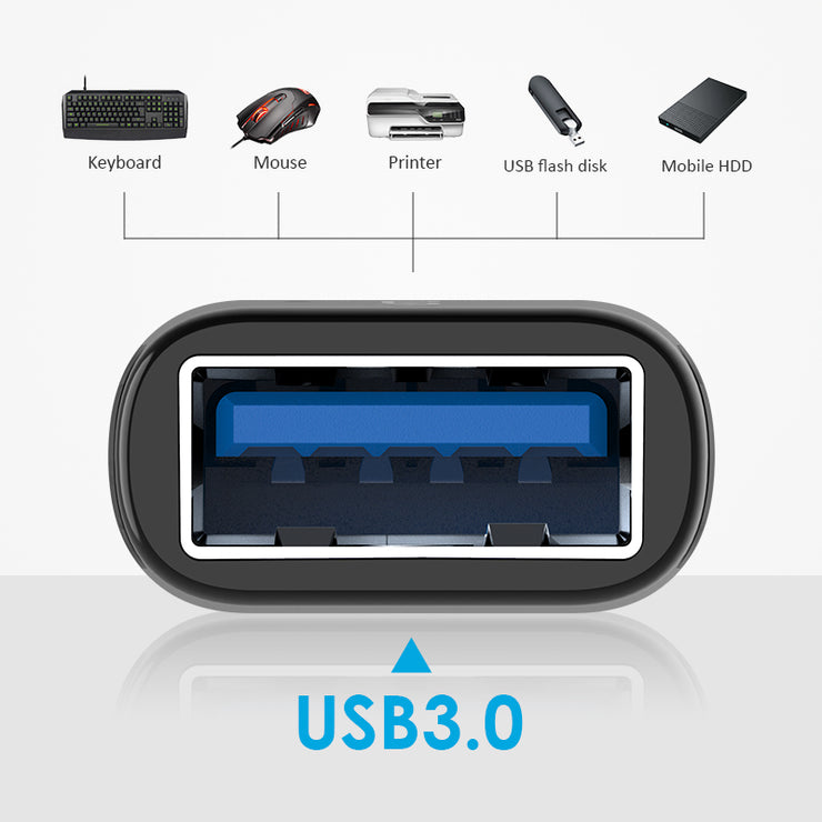 LENTION USB-C to USB 3.0 Adapter| US Warehouse in Stock