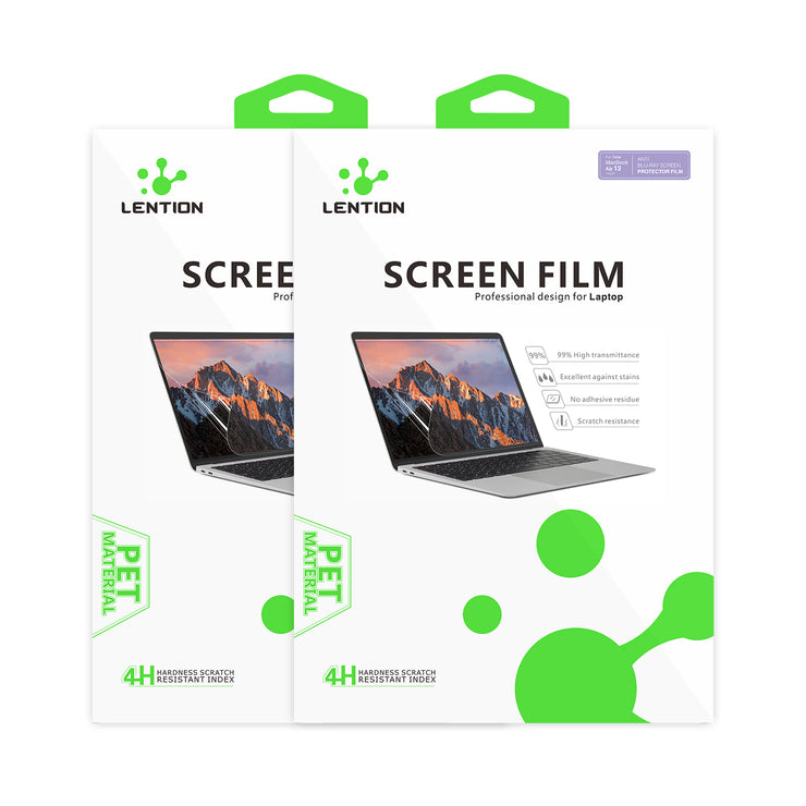 Lention.com: Fingerprint-proof Dull polish Clear Film Compatible with MacBook Air 13